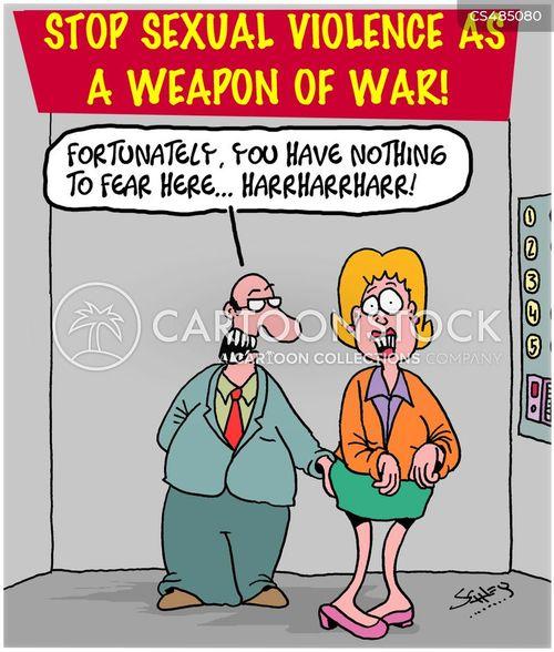 war criminal cartoon