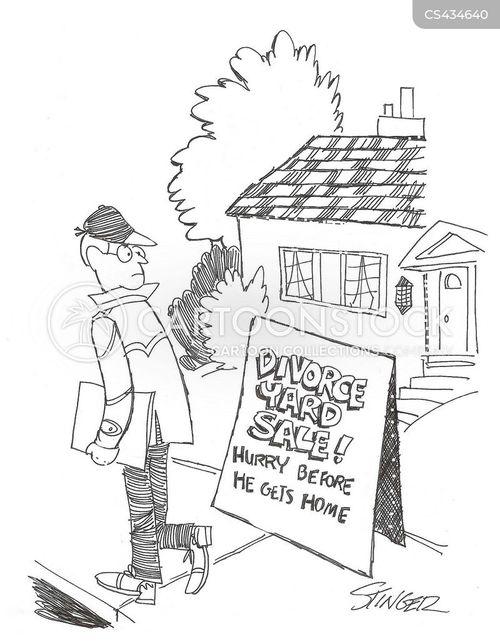 Yard Sale Cartoons And Comics