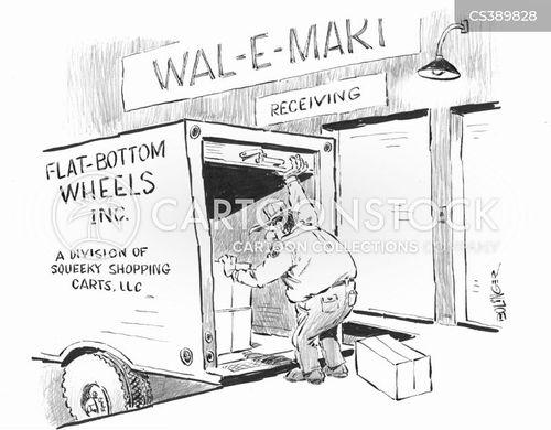 squeaky wheel cartoon