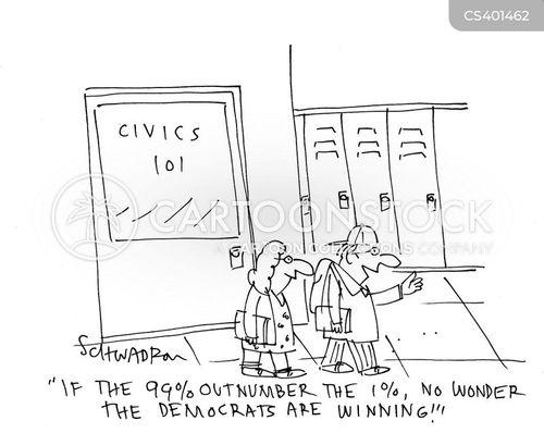 class warfare cartoon