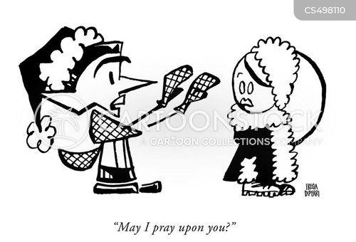 predatory behaviour cartoon