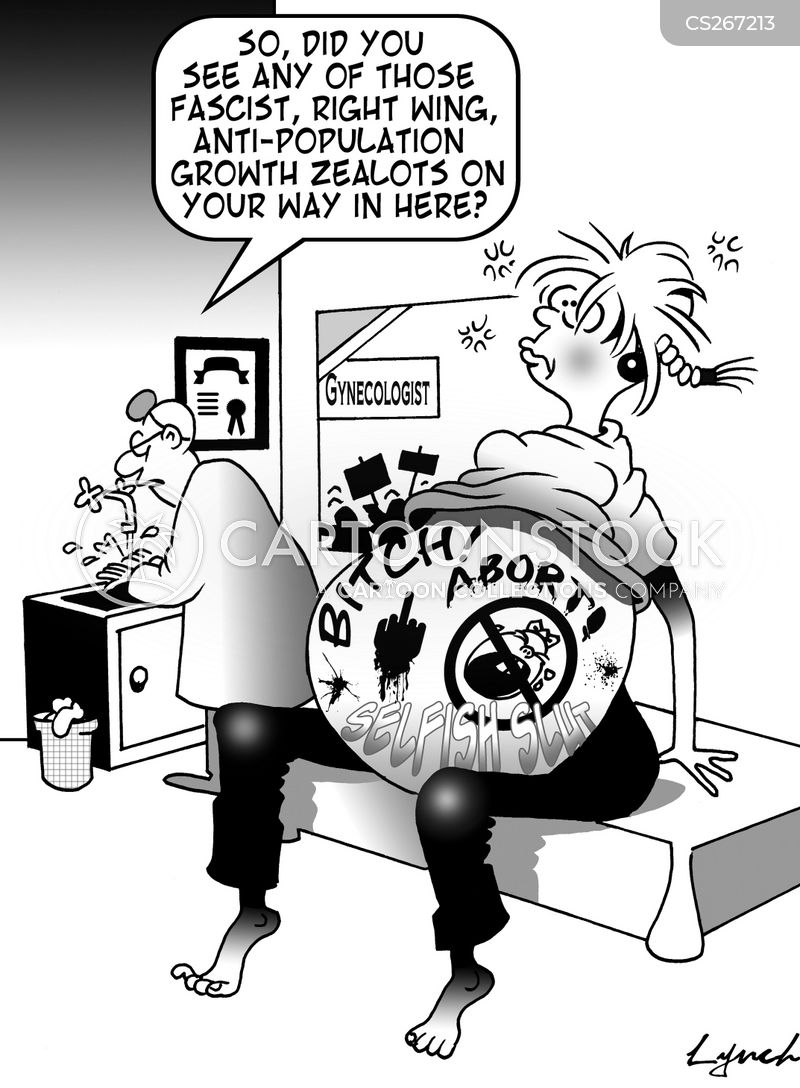 abortionist cartoon