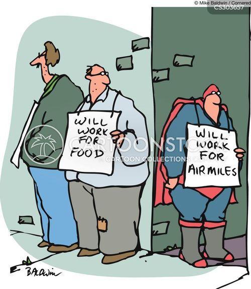 air miles cartoon