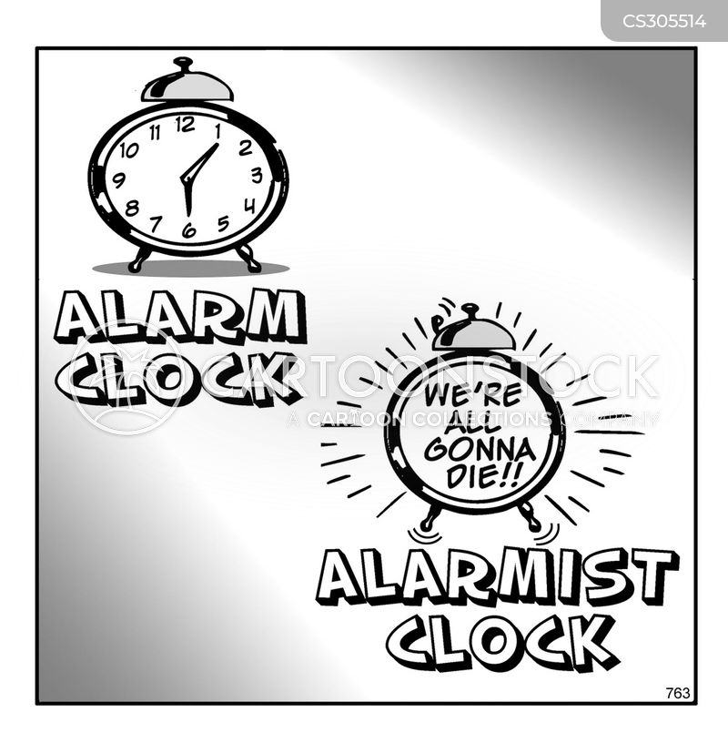 alarmist cartoon