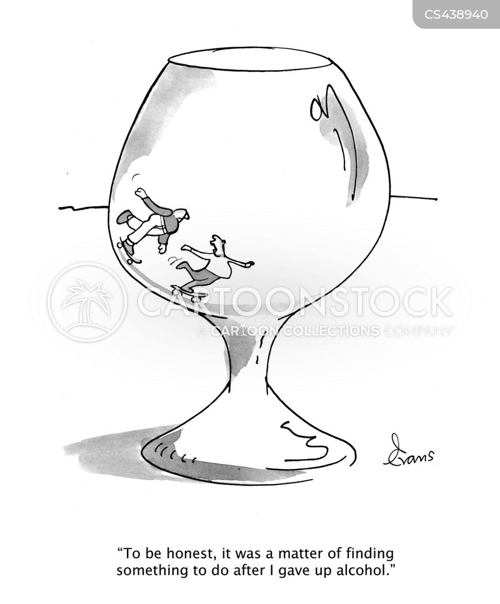 abstain cartoon