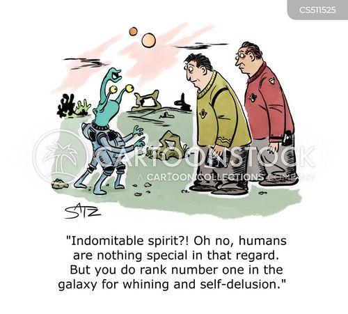 human spirit cartoon