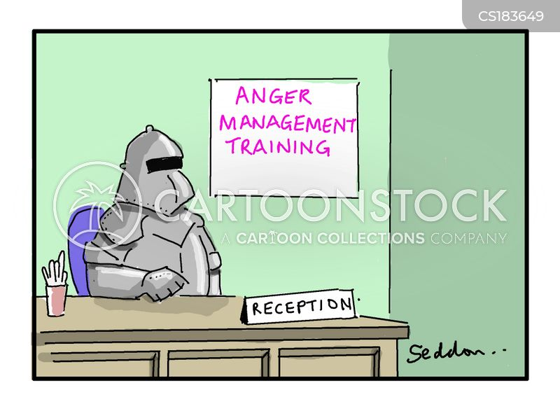 anger therapy cartoon