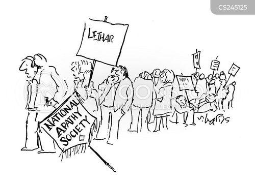 spiritless cartoon