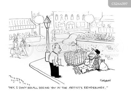 upscale neighbourhoods cartoon