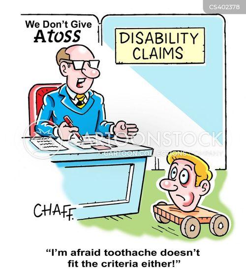 disability living allowance cartoon