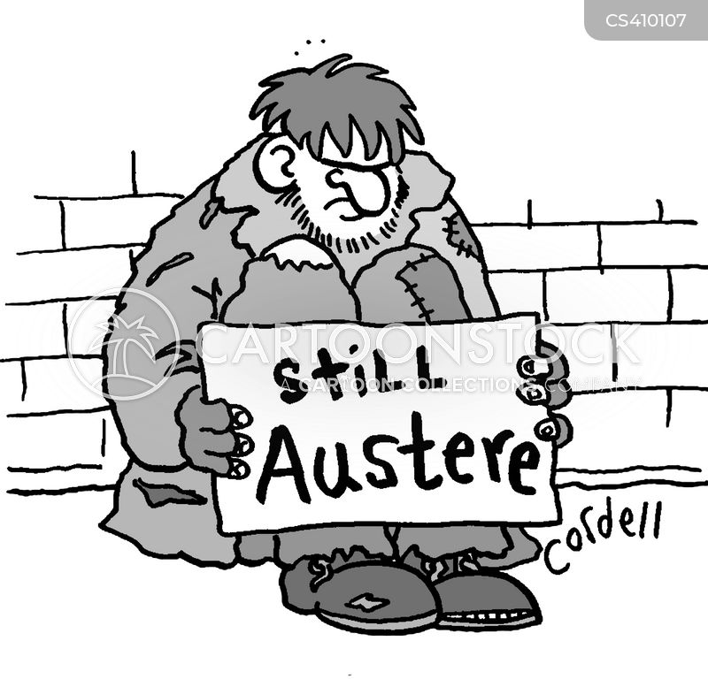 austere cartoon