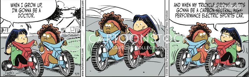 tricycle cartoon