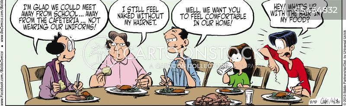 professional cook cartoon