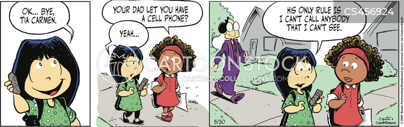 protective fathers cartoon