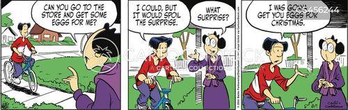 frugality cartoon