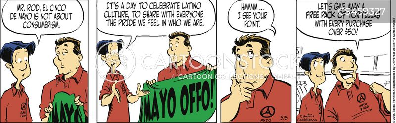 latin culture cartoon