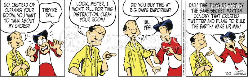 clean your room cartoon