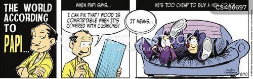 refurbish cartoon