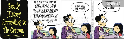 family relation cartoon