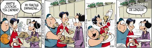 disgusting foods cartoon