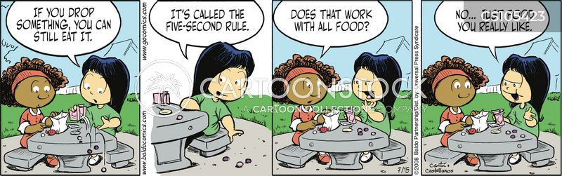 Five Second Rule cartoons, Five Second Rule cartoon, funny, Five Second Rule picture, Five Second Rule pictures, Five Second Rule image, Five Second Rule images, Five Second Rule illustration, Five Second Rule illustrations