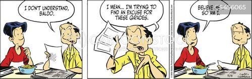 no excuse cartoon