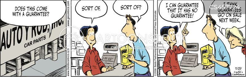 customer service representative cartoon