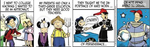humble origin cartoon
