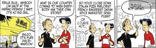 identity politics cartoon