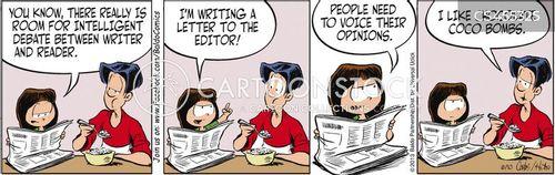 discourse level cartoon