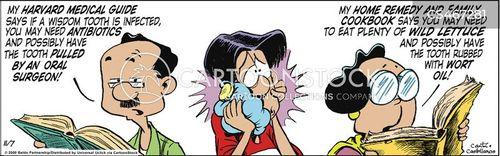 oral surgeon cartoon