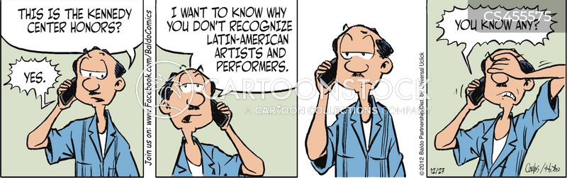hispanic community cartoon