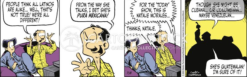 latin americans cartoon