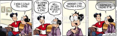 senses of humor cartoon