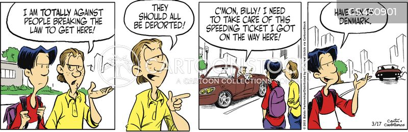 deports cartoon