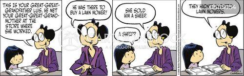 grazing animal cartoon