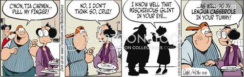 lengua cartoon