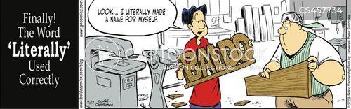 figuratively cartoon
