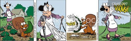 fights back cartoon