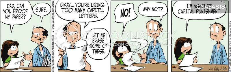 proofread cartoon