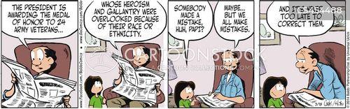 army veterans cartoon
