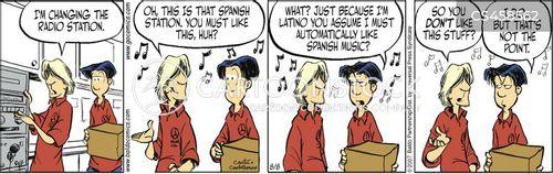 spanish radio cartoon