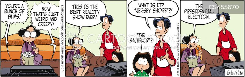 defaming cartoon