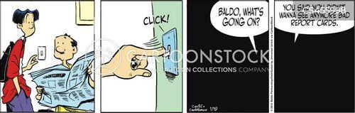 shooting the messenger cartoon