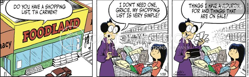 sale items cartoon