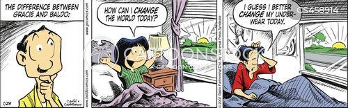 change the world cartoon