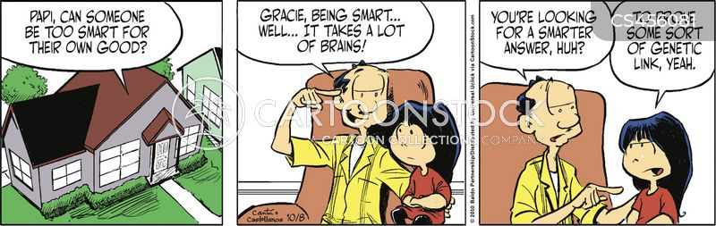 brains of the family cartoon