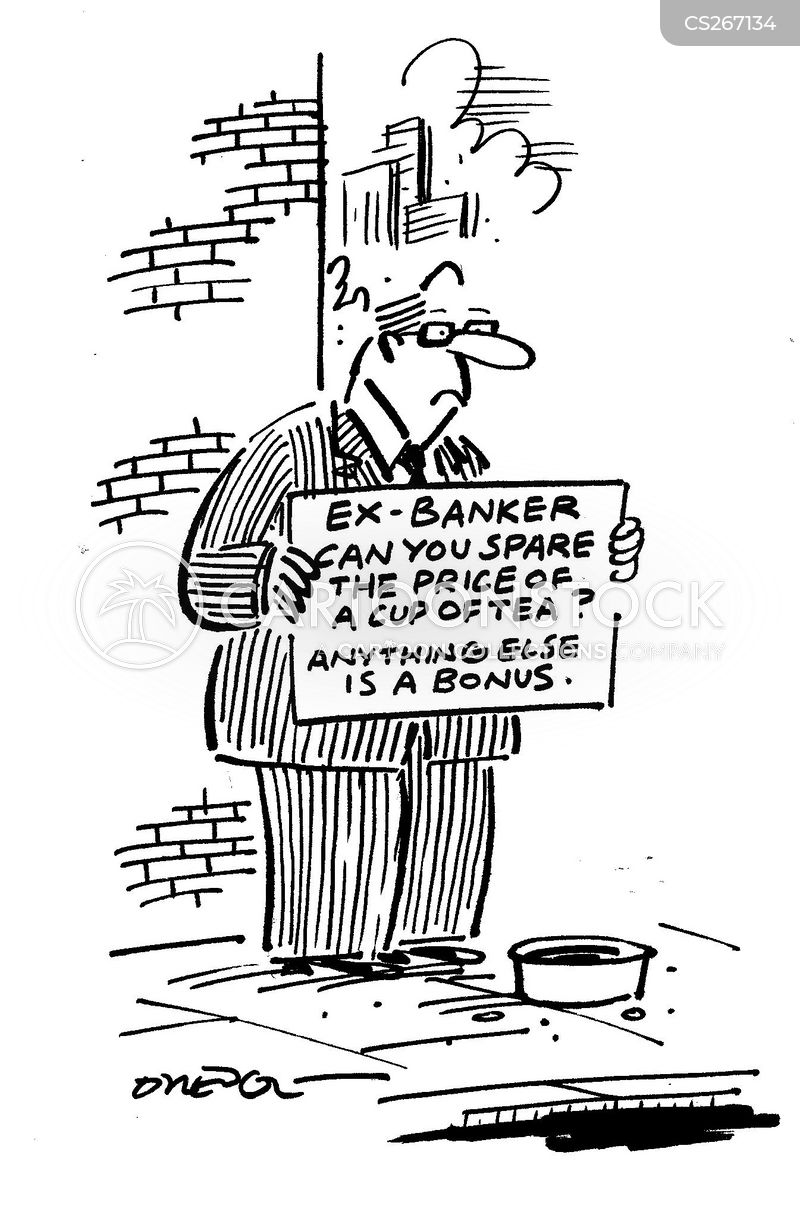 ex-banker cartoon