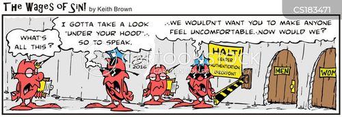 invasive cartoon
