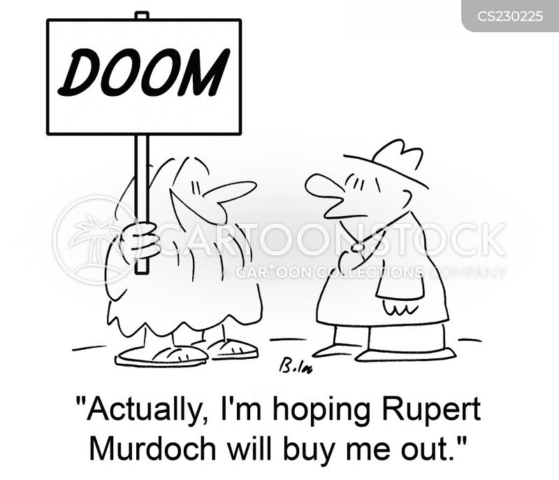 buy outs cartoon